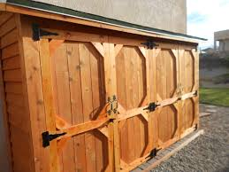 ana white double wide cedar fence picket storage shed diy projects