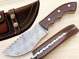 damascus knife kitchen hunting product