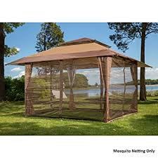 gazebo mosquito netting sunjoy s gz001 e mn fabric replacement mosquito