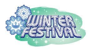 winter festival promo graphics