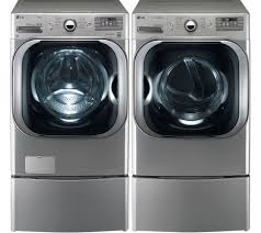 Gas Clothes Dryers Reviews Lg Graphite Front Load Steam Washer And Steam Electric Or Gas