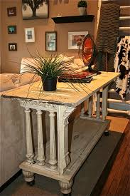 sofa table kitchen island buffet made from reclaimed antique