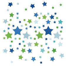kinderzimmer wandsticker dinki balloon kinderzimmer wandsticker sterne blau grün 68 teilig