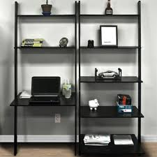 Ladder Office Desk Furniture Home Office Desk And Bookcase Bookcase With Rolling
