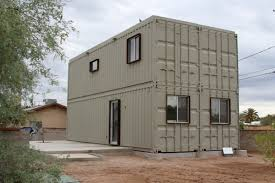 100 cargo container homes 2 blue storage unit homes with