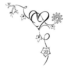 tattoo grandchildren tattoo ideas birth flowers heart tattoo