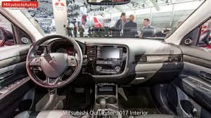 outlander mitsubishi mitsubishi outlander 2017 interior youtube
