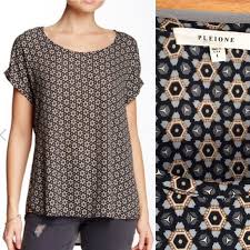 pleione blouse 60 pleione tops pleione sleeve blouse from s