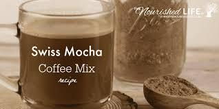 Coffee Mix swiss mocha coffee mix recipe the nourished