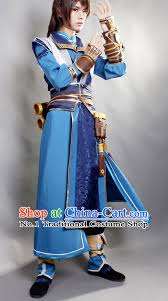 Chinese Halloween Costume Asia Fashion Chinese Wu Xia Swordsman Play Cosplay Costumes