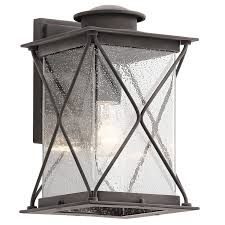 Kichler Led Outdoor Lighting Argyle 12 75 1 Light Led Outdoor Wall Wzc
