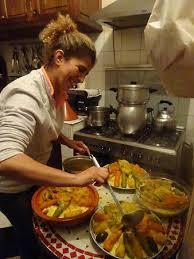 cuisine souad souad en pleine préparation du bon couscous picture of riad