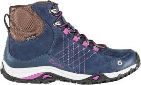 womens walking boots australia oboz sapphire mid bdry hiking boots s at rei