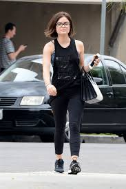 lucy hale leaves a nails salon in west hollywood 06 11 2015