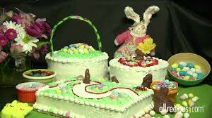 how to decorate easter cakes video allrecipes com