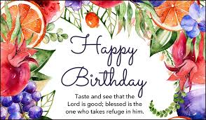 Birthday Card Free Happy Birthday Psalm 34 8 Ecard Email Free Personalized