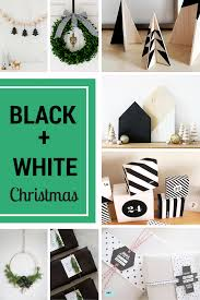 White Christmas Decorations Diy by Black And White Christmas Decorations Diy Mama