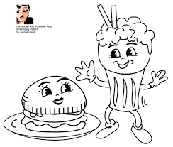 free embroidery pattern hamburger root beer float flickr