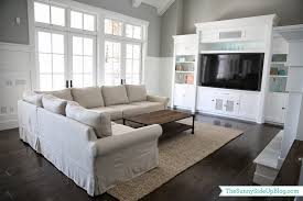Pottery Barn Rug Shedding by Family Room Decor Update The Sunny Side Up Blog