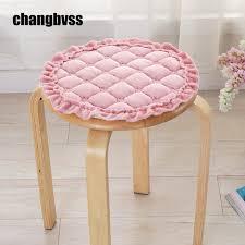 coussins de chaises de cuisine pastorale style forme ronde cuisine chaises tabourets coussins