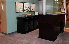 Zira Reception Desk This All New Zira Series Reception Desk Configuration From Global