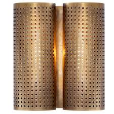 Double Light Wall Sconce Designer Sconces Kelly Wearstler