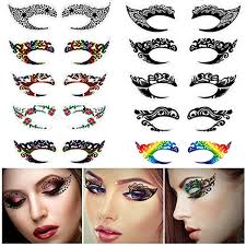 10 pairs temporary eyeshadow sticker disposable liner
