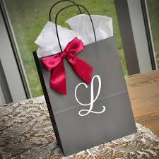 bridal party gift bags bridal party gift bags confetti momma