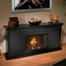 Realistic Electric Fireplace Logs by Simplifyre See Through Electric Fireplace From Heat U0026 Glo