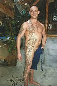 full body tribal and fish big magic tattoo koh phangan thailand