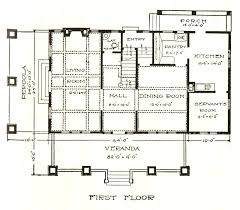 1930s Bungalow Floor Plans Sears Kits Sears Modern Homes