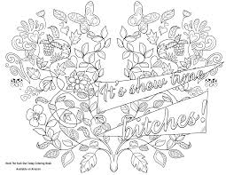 swearing coloring page archives thiago ultra