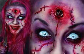 fancy scary halloween makeup ideas 76 in with scary halloween