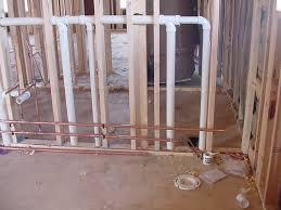 basement bathroom rough in plumbing the skylark roughed in