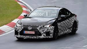 lexus rc lexus spied prepping updated rc f possible engine update