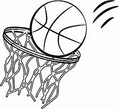 Basketball Color Page Vitlt Com Basketball Color Page