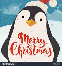 merry christmas vector card funny christmas stock vector 338054810