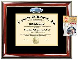 phd graduation gifts of akron diploma frame graduation gift degree cus pictur