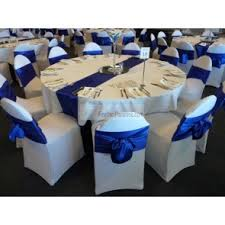 royal blue chair covers table cloth chair covers napkins sash