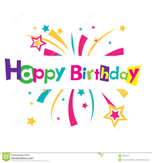 vector happy birthday card royalty free stock photography image