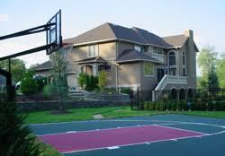 Backyard Sport Courts Long Island New York Backyard Athletic Sports Court Builders