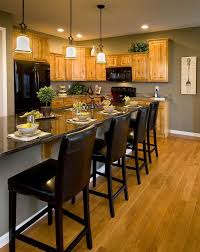 paint colors for kitchen with oak cabinets image on perfect paint