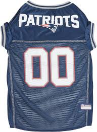 pets first new england patriots mesh dog jersey x large chewy com