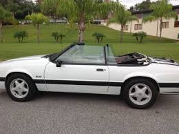 1991 lx 5 0 mustang pristine 1991 ford mustang 5 0 lx convertible with only 38900