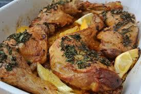 cuisiner des cuisse de poulet cuisses de poulet au citron et à l ail dans la cuisine de fabienne