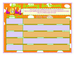 make spellings fun loads of activities by sairer teaching
