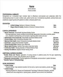 Lab Experience Resume Nursing Resume Objectives Resume Objective Examples For