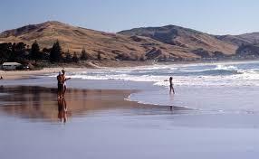 where is the black sand beach 10 great new zealand beaches cnn travel
