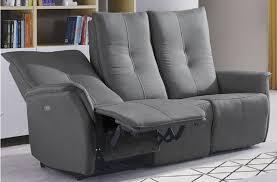 canape relax electrique cuir canapé relaxation evo cuir canapé relaxation pas cher mobilier et