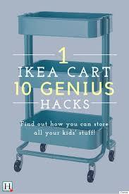 ikea hacks 10 reasons every parent needs the raskog cart kids